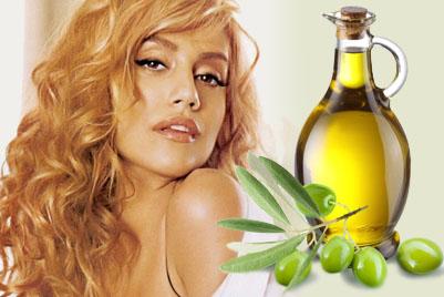 Питательная маска для волос оливковое масло