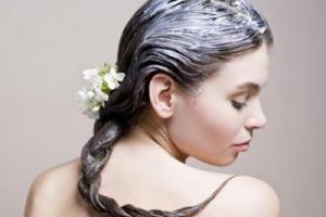 майонезная маска для волос