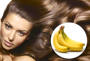 маска для волос из бананов