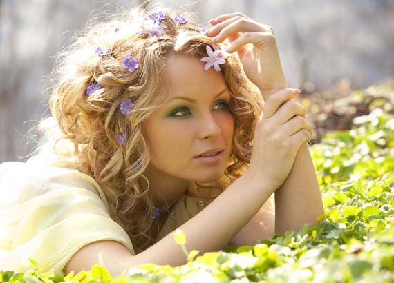 волосы весной