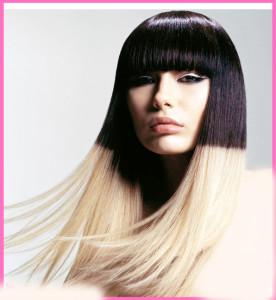 окрашеные волосы