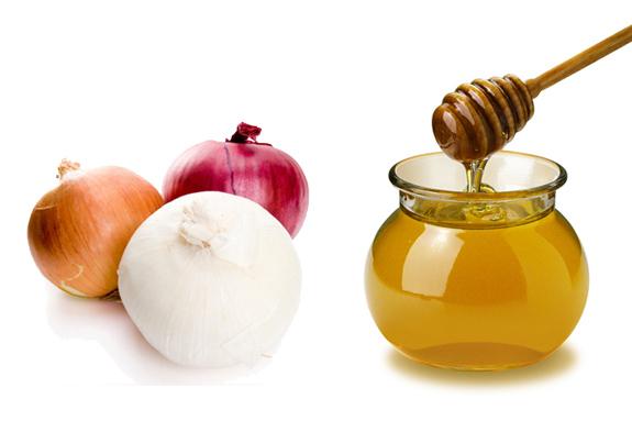 маска с медом и луком для волос