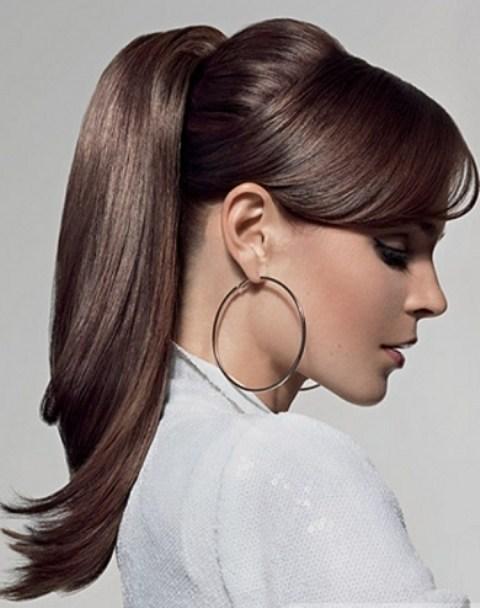 Фото причесок из хвостов на волосы