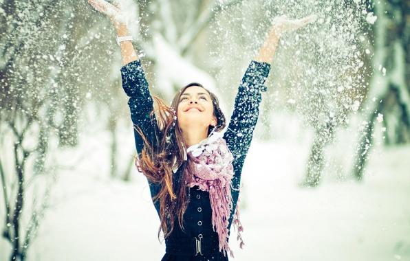Как защитить волосы от мороза