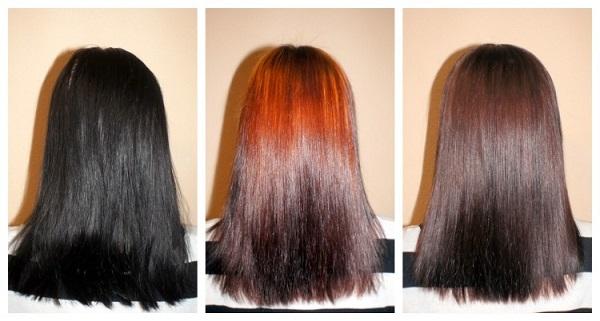 Как сделать смывку волос в домашних фото 544