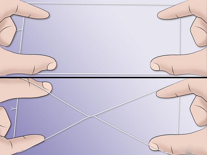 Выщипать брови ниткой в картинках