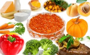 Насыщенные биотином продукты
