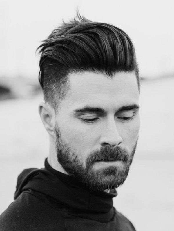 Трехмесячная борода