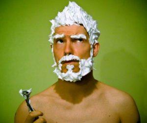 Перед бритьем