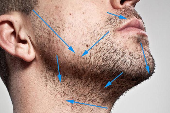 Почему надо бриться по росту волос