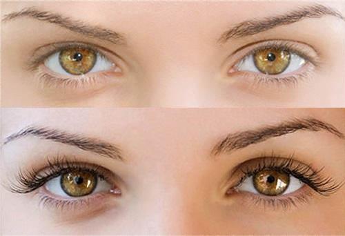 Накрашенный нижний ряд ресниц придают глазам большей яркости