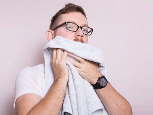 Борода нуждается в регулярном мытье
