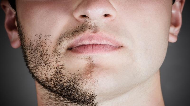 как брить усы правильно