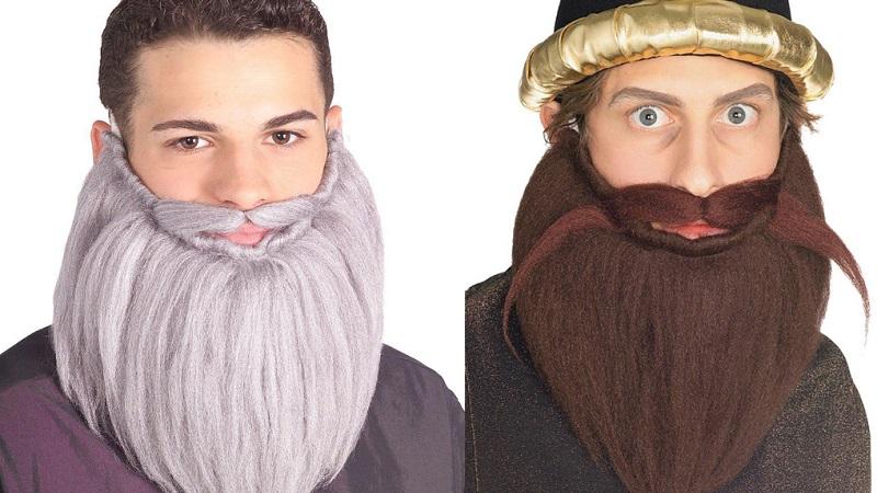 как сделать бороду своими руками для старика